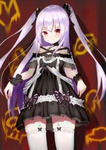 Rating: Safe Score: 19 Tags: appo_(36786257) dress gothic_lolita hololive lolita_fashion stockings thighhighs uruha_rushia User: charunetra