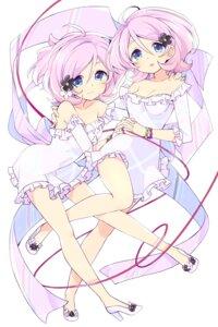 Rating: Safe Score: 40 Tags: cleavage dress heels no_bra tokyo_7th_sisters wara User: nphuongsun93