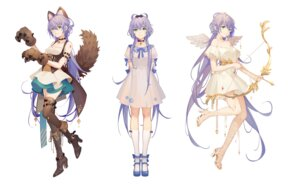 Rating: Safe Score: 18 Tags: animal_ears dress garter heels luo_tianyi tagme tail tattoo thighhighs tidsean vocaloid weapon wings User: BattlequeenYume