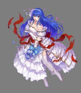 Rating: Safe Score: 41 Tags: cleavage dress fire_emblem:_monshou_no_nazo fire_emblem_heroes heels sheeda thighhighs torn_clothes transparent_png wedding_dress yoshiku User: Mr_GT