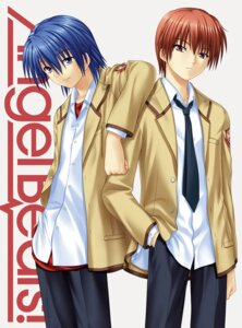 Rating: Safe Score: 10 Tags: angel_beats! hinata_(angel_beats!) male na-ga otonashi User: risette