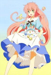 Rating: Safe Score: 41 Tags: chibi dress jinrui_wa_suitai_shimashita sakai_kyuuta skirt_lift watashi_(jinrui_wa_suitai_shimashita) User: Jigsy