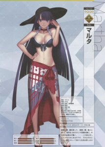 Rating: Questionable Score: 21 Tags: bikini_top cleavage fate/grand_order saint_martha sakamoto_mineji swimsuits User: Radioactive