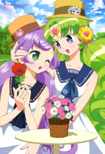 Rating: Safe Score: 8 Tags: dress falulu_vocaldoll hara_shouji headphones manaka_lala pripara User: drop