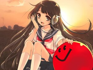 Rating: Safe Score: 35 Tags: headphones ito_noizi jpeg_artifacts seifuku wallpaper User: Sunimo