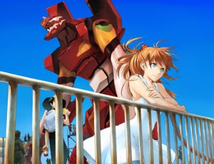 Rating: Safe Score: 23 Tags: akagi_ritsuko ayanami_rei dress ikari_shinji ishibashi_yosuke katsuragi_misato mecha neon_genesis_evangelion souryuu_asuka_langley summer_dress User: Radioactive