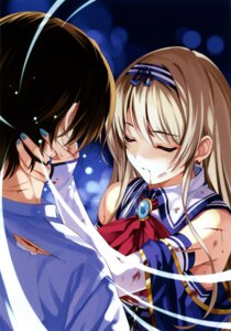 Rating: Safe Score: 41 Tags: blood boku_to_kanojo_ni_furu_yoru misaki_kurehito User: fireattack