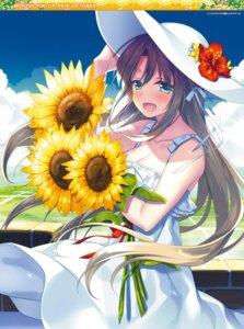 Rating: Safe Score: 21 Tags: cleavage dress motomiya_mitsuki possible_duplicate summer_dress User: kiyoe
