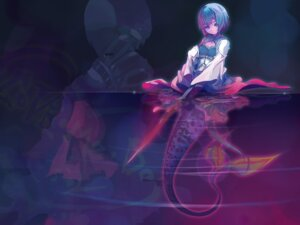 Rating: Safe Score: 26 Tags: akaga_hirotaka mermaid miki_sayaka puella_magi_madoka_magica wallpaper User: GeniusMerielle
