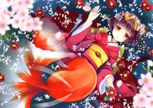 Rating: Safe Score: 20 Tags: kimono natsume_eri User: WtfCakes