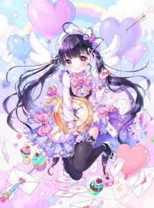 Rating: Safe Score: 67 Tags: dress garter heels shiori_(xxxsi) thighhighs valentine wings User: lichtzhang