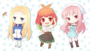 Rating: Safe Score: 8 Tags: arakawa_under_the_bridge chibi komi_zumiko maria_(arakawa) nino_(arakawa) p-ko_(arakawa) User: Radioactive