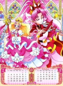Rating: Questionable Score: 4 Tags: akagi_towa calendar dress go!_princess_pretty_cure haruno_haruka pretty_cure weapon User: drop