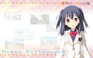 Rating: Safe Score: 24 Tags: fujibayashi_misao hook melty_moment seifuku wallpaper User: alice4