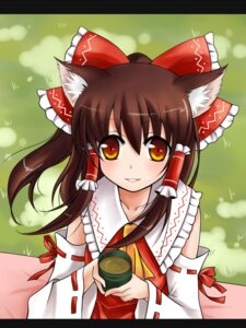 Rating: Safe Score: 6 Tags: animal_ears hakurei_reimu misa touhou User: Radioactive