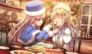 Rating: Safe Score: 56 Tags: apple228 christmas yuri User: Mr_GT