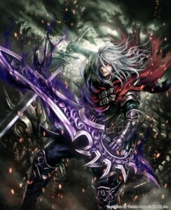 Rating: Safe Score: 19 Tags: anbe_yoshirou armor deity_wars sword User: Mr_GT