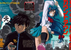 Rating: Safe Score: 3 Tags: bleed_through chidori_kaname full_metal_panic horiuchi_osamu jpeg_artifacts sagara_sousuke seifuku User: videokilled
