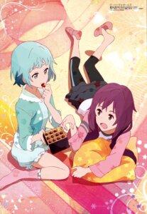 Rating: Safe Score: 38 Tags: arai_dai bloomers kosaka_yukina moritomo_nozomi rolling_girls User: drop