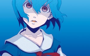 Rating: Safe Score: 5 Tags: ayanami_rei neon_genesis_evangelion p_p_p_s seifuku wallpaper User: anaraquelk2