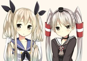 Rating: Safe Score: 60 Tags: amatsukaze_(kancolle) kantai_collection shimakaze_(kancolle) sky-freedom User: 椎名深夏