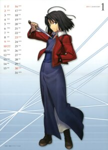 Rating: Safe Score: 13 Tags: calendar kara_no_kyoukai ryougi_shiki takeuchi_takashi type-moon yukata User: SubaruSumeragi