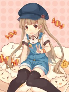 Rating: Safe Score: 48 Tags: overalls sencha thighhighs User: nphuongsun93