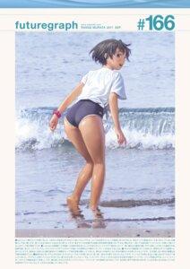 Rating: Safe Score: 15 Tags: ass range_murata school_swimsuit swimsuits wet User: 8mine8