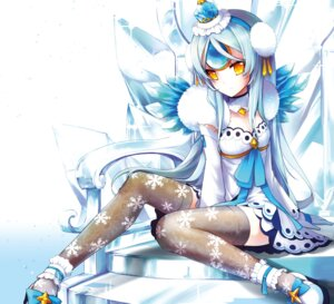 Rating: Safe Score: 29 Tags: cleavage elsword eve_(elsword) kuroshio_maki thighhighs User: Nepcoheart