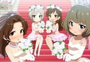 Rating: Safe Score: 24 Tags: agemono anastasia_(idolm@ster) cleavage dress heels kawashima_mizuki nitta_minami takagaki_kaede takatsu_tomoko the_idolm@ster the_idolm@ster_cinderella_girls wedding_dress User: drop