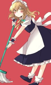 Rating: Safe Score: 4 Tags: kirisame_marisa maid touhou yonu User: Radioactive
