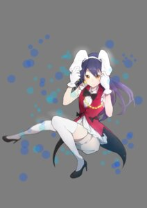 Rating: Safe Score: 18 Tags: animal_ears bunny_ears heels love_live! sonoda_umi tagme thighhighs User: saemonnokami