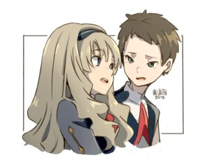 Rating: Safe Score: 10 Tags: darling_in_the_franxx kokoro_(darling_in_the_franxx) mitsuru_(darling_in_the_franxx) uniform van_wulfen User: Spidey