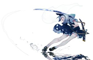 Rating: Safe Score: 19 Tags: ikurauni konpaku_youmu sword touhou User: charunetra