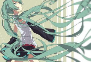 Rating: Safe Score: 20 Tags: hatsune_miku rituiti vocaloid User: echidna_vita