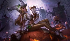 Rating: Safe Score: 43 Tags: cleavage gun halloween heels league_of_legends miss_fortune tagme witch User: samuelp