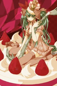 Rating: Safe Score: 9 Tags: cleavage dress hatsune_miku sakura_(superbunnys) thighhighs vocaloid User: anaraquelk2