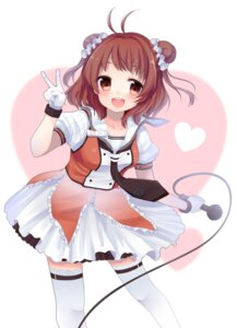 Rating: Safe Score: 26 Tags: kantai_collection lolita_fashion naka_(kancolle) shika_yuno thighhighs User: mahoru