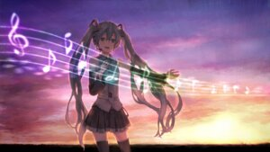 Rating: Safe Score: 15 Tags: ameiro hatsune_miku vocaloid User: Nekotsúh