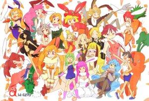 Rating: Safe Score: 4 Tags: animal_ears bunny_ears bunny_girl mokkeo User: yumichi-sama