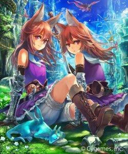 Rating: Safe Score: 27 Tags: animal_ears armor bloomers igarashi_youhei monster shingeki_no_bahamut sword tagme User: saemonnokami