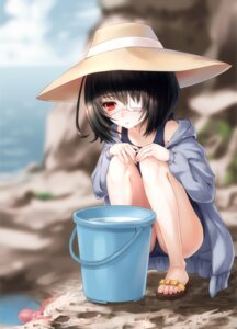 Rating: Safe Score: 56 Tags: another daizo eyepatch misaki_mei swimsuits User: Mr_GT