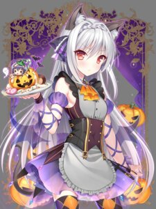 Rating: Safe Score: 85 Tags: animal_ears chibi halloween nekomimi sakurakouji_luna see_through tail thighhighs transparent_png tsuki_ni_yorisou_otome_no_sahou waitress wings yadamon User: Mr_GT