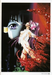 Rating: Explicit Score: 21 Tags: la_blue_girl midou_miko no_bra nopan rin_sin tentacles User: Wraith