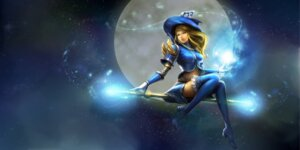 Rating: Safe Score: 25 Tags: armor heels league_of_legends luxanna_crownguard tagme thighhighs weapon witch User: Radioactive