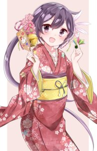Rating: Safe Score: 42 Tags: akebono_(kancolle) hamaken kantai_collection kimono User: Mr_GT