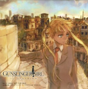 Rating: Safe Score: 6 Tags: aida_yuu disc_cover gunslinger_girl scanning_artifacts seifuku triela User: ViBaYo