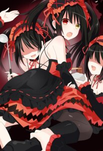 Rating: Questionable Score: 53 Tags: cleavage date_a_live dress gothic_lolita heels heterochromia lolita_fashion no_bra qing_cui tokisaki_kurumi User: kiyoe