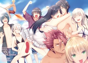 Rating: Questionable Score: 16 Tags: bikini cleavage luna_lia mahou_sensou swimsuits User: kiyoe
