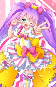 Rating: Safe Score: 13 Tags: dress manaka_lala muraji0419 pripara thighhighs User: charunetra